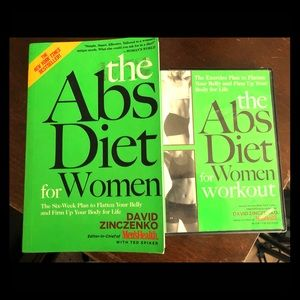 Abs diet workout book and DVD
